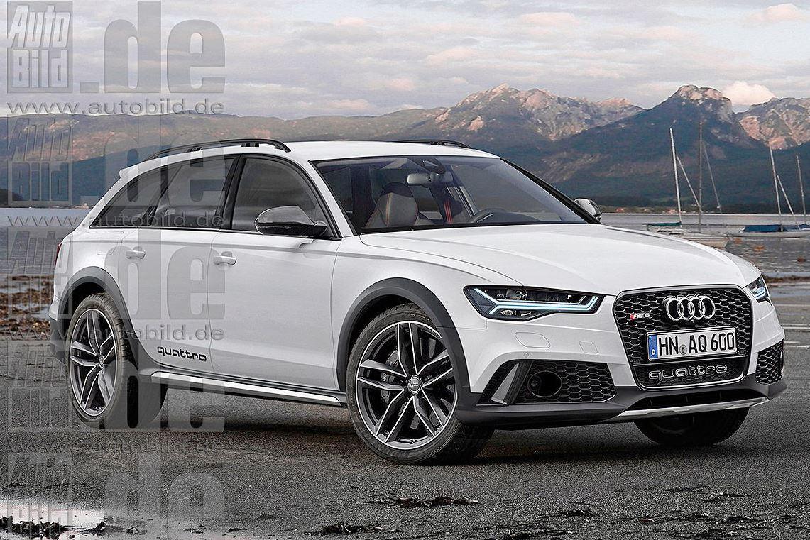 Audi RS6 прохватит по бездорожью