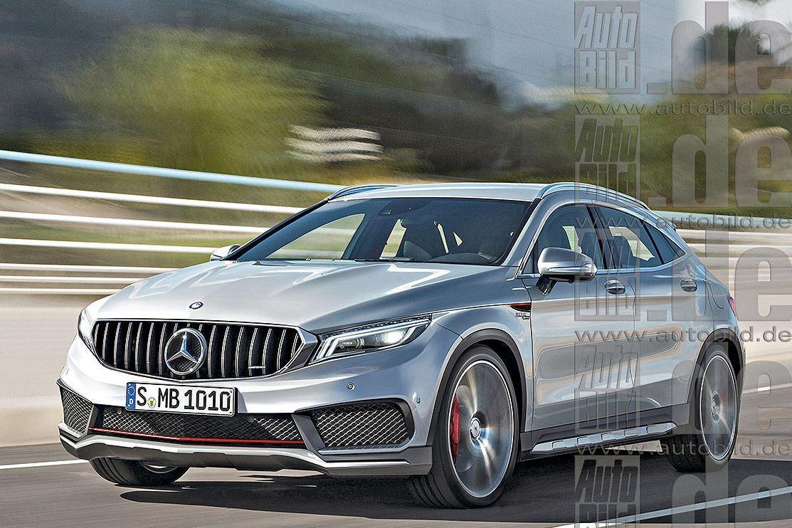 Стали известны первые подробности о новом Mercedes GLA