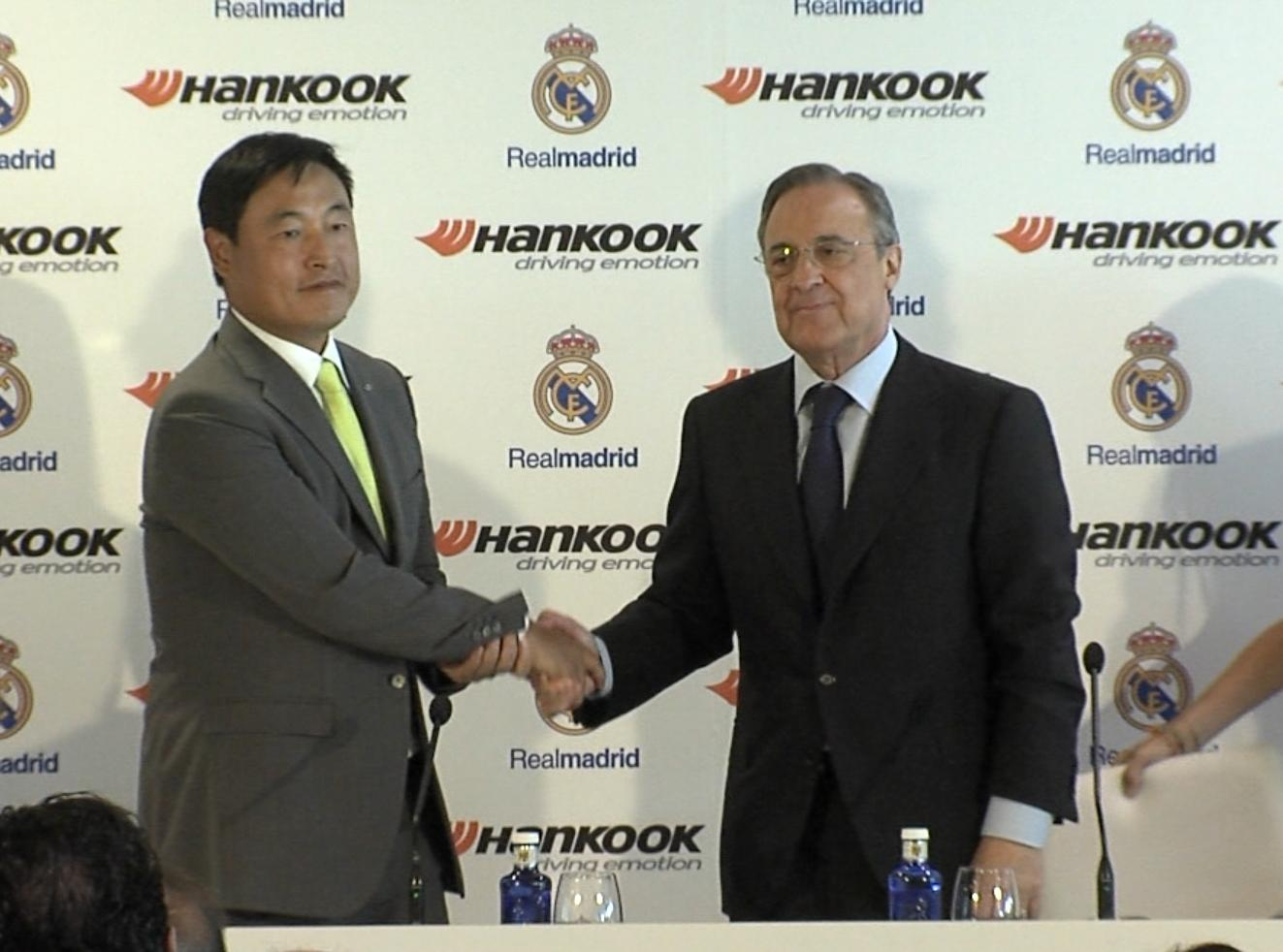 Hankook и «Реал» подписали официальный контракт о глобальном партнерстве