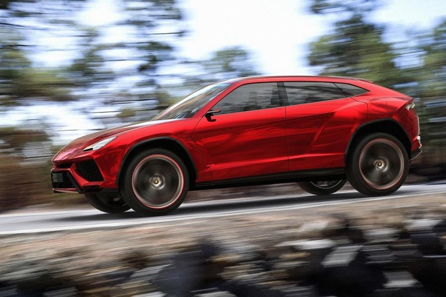 Внедорожник Lamborghini не будет похож на остальные модели марки