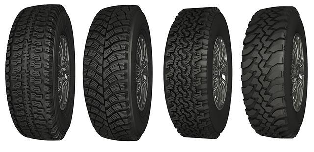 АШК начал продажи новых моделей шин NorTec для внедорожников