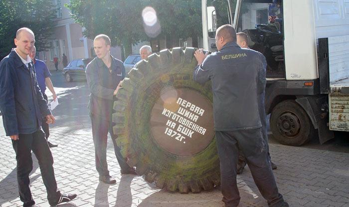 Первая белорусская шина вернулась на «Белшину»