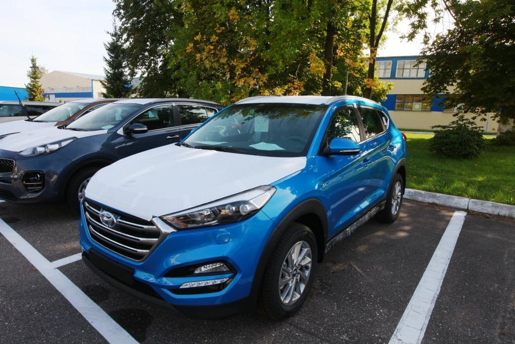 В Калининграде начали собирать Hyundai Tucson