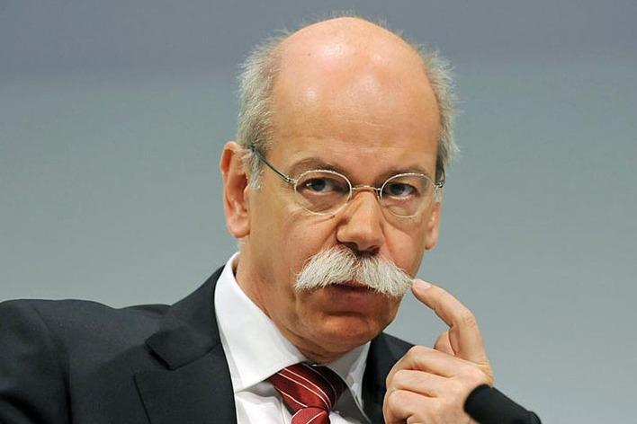 Глава Daimler Дитер Цетше анонсировал новые системы помощи водителю