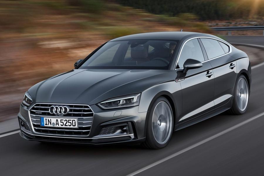 Audi A5 второго поколения стала хэтчбеком