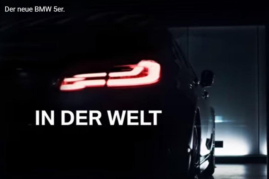 Компания BMW показала второй видеотизер 5-Series