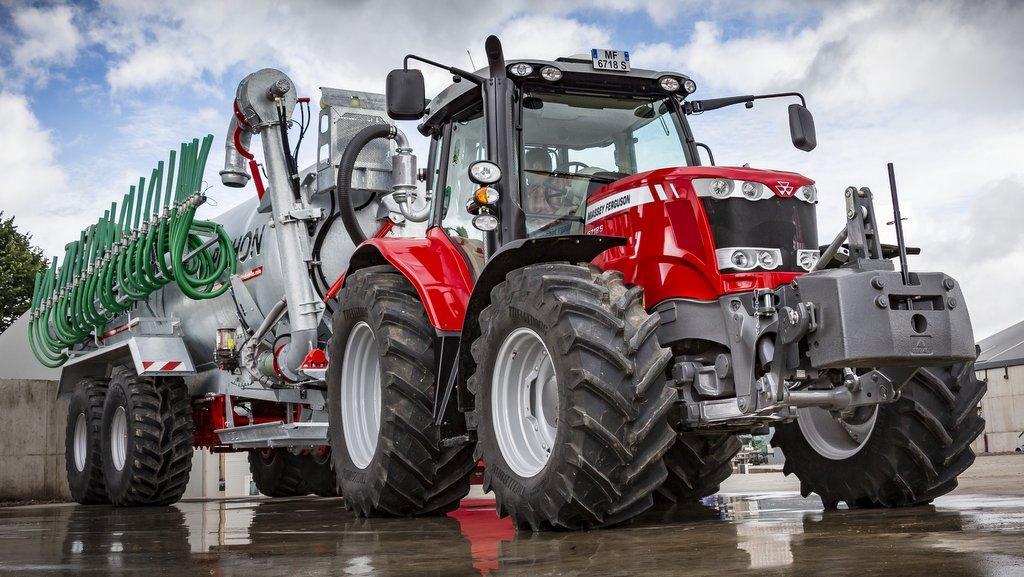 Новые тракторы Massey Ferguson 6718 S оснастят шинами Trelleborg ProgressiveTraction