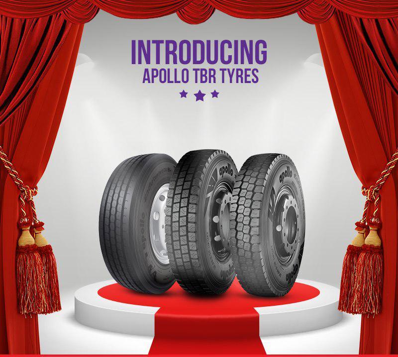 Apollo Tyres представила новые модели TBR-шин
