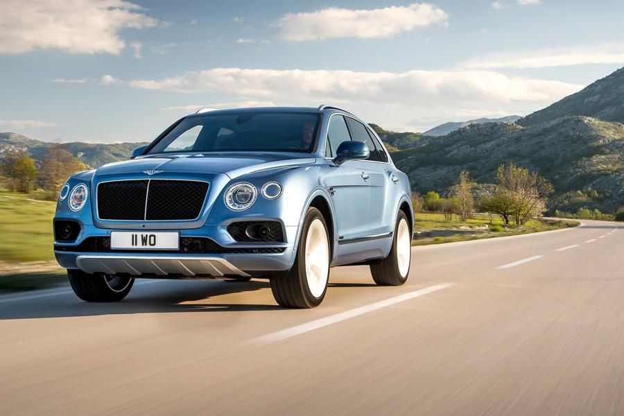 Bentley Bentayga обзавелся дизелем
