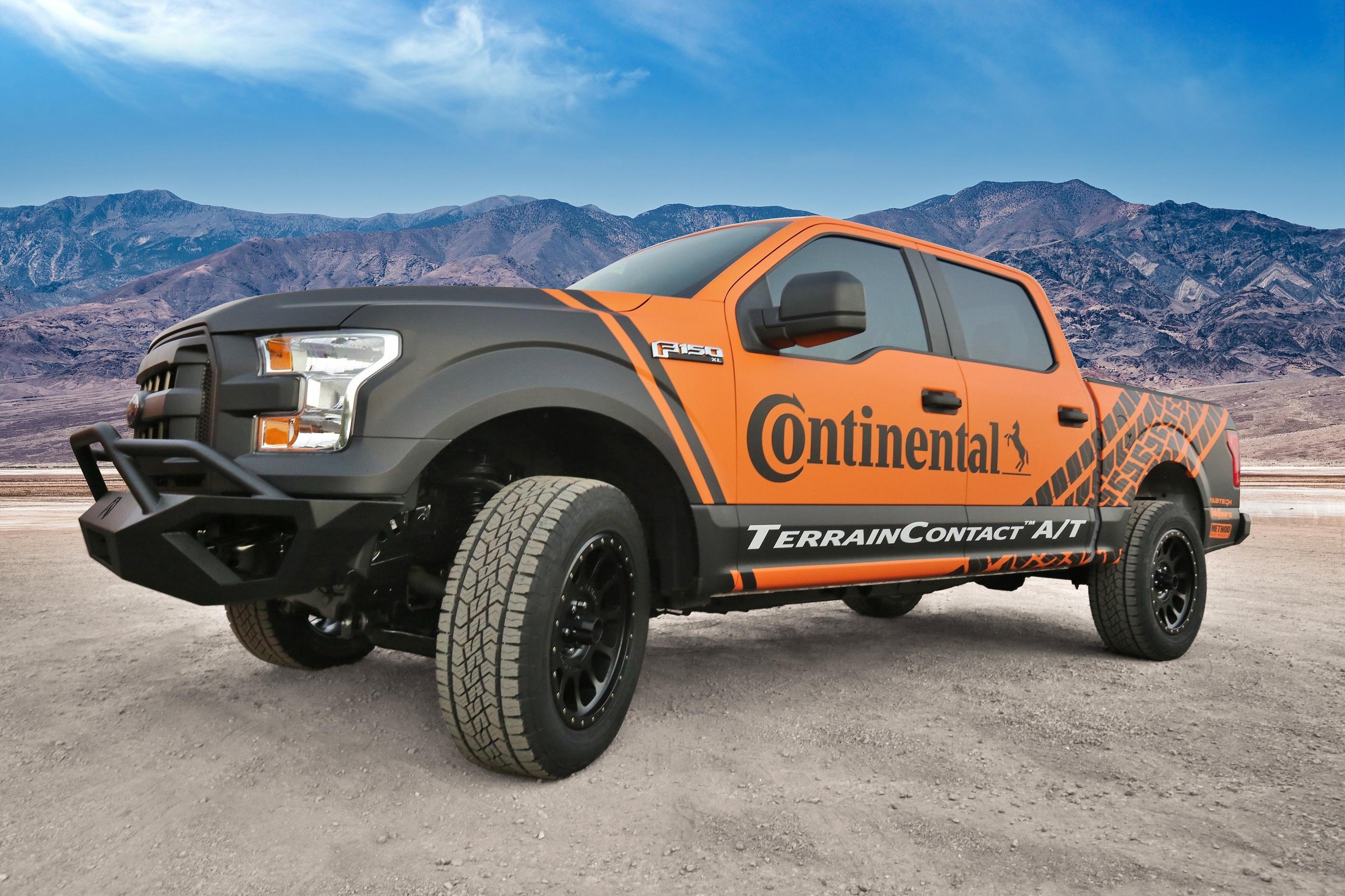 Continental Tire объявила о запуске новых вседорожных шин TerrainContact A/T