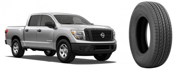 Toyo обует в свои всесезонки новые пикапы Nissan Titan