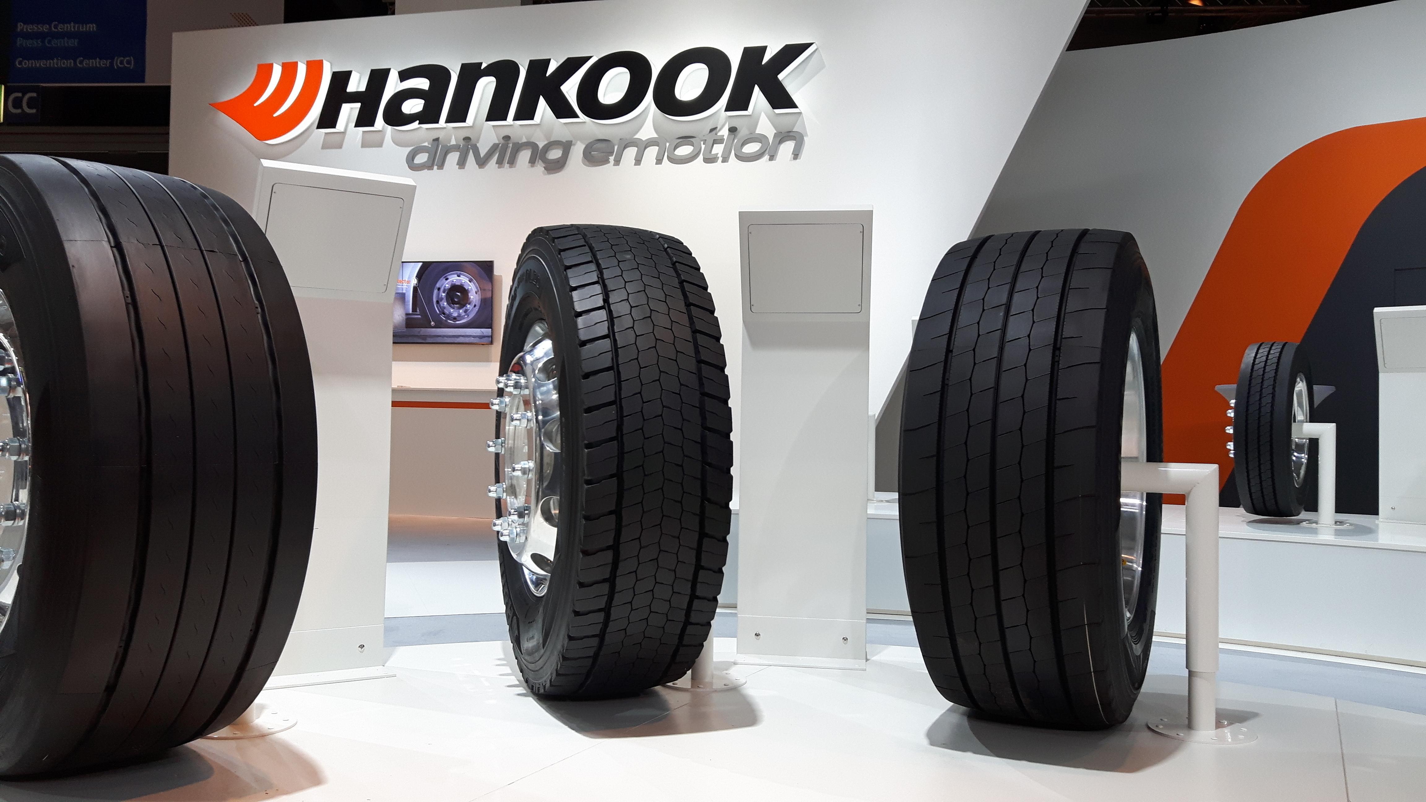 Hankook Tire представила в Ганновере сверхэкономичные шины e-cube Blue