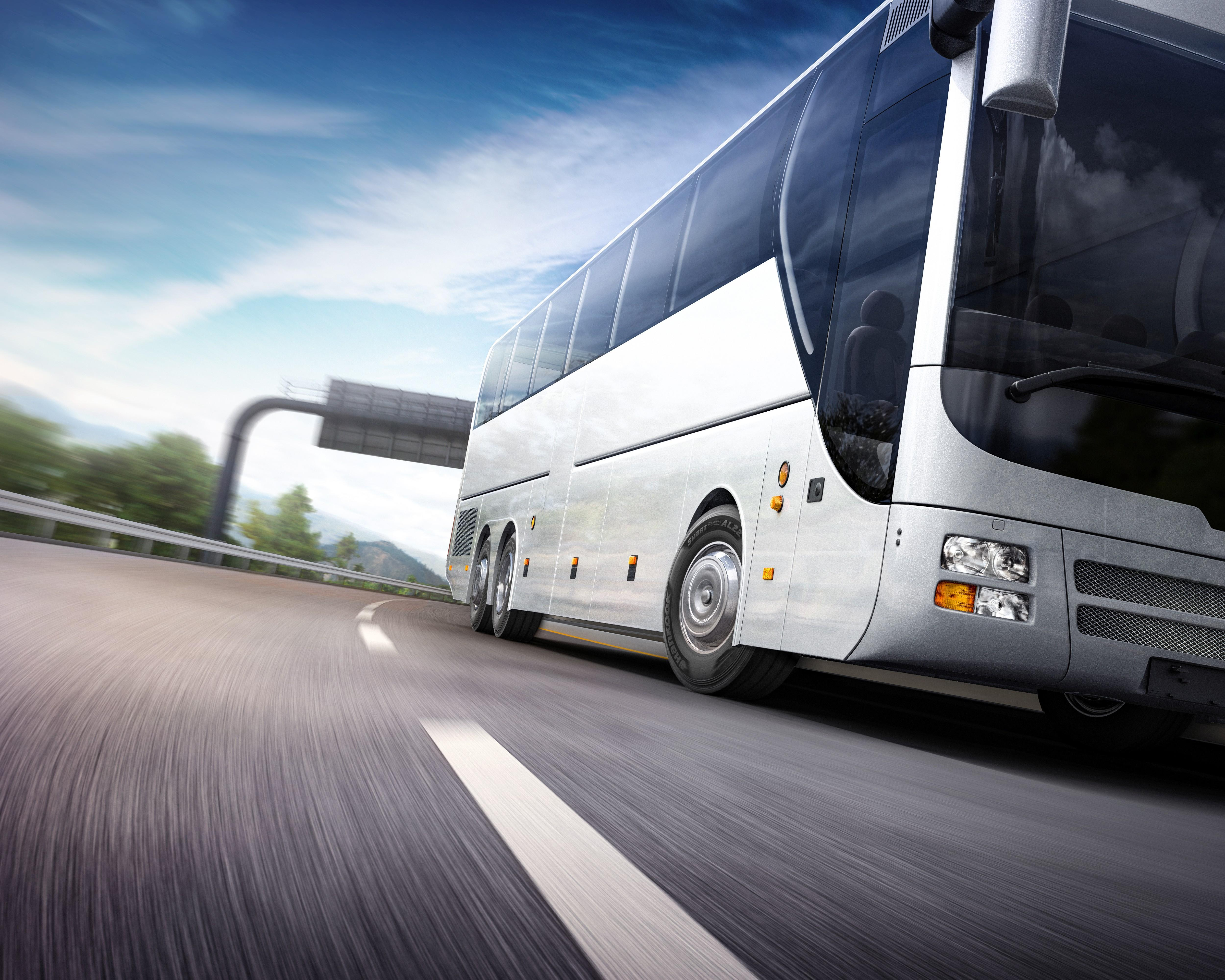 Hankook представила новые ультрасовременные шины для междугородних автобусов