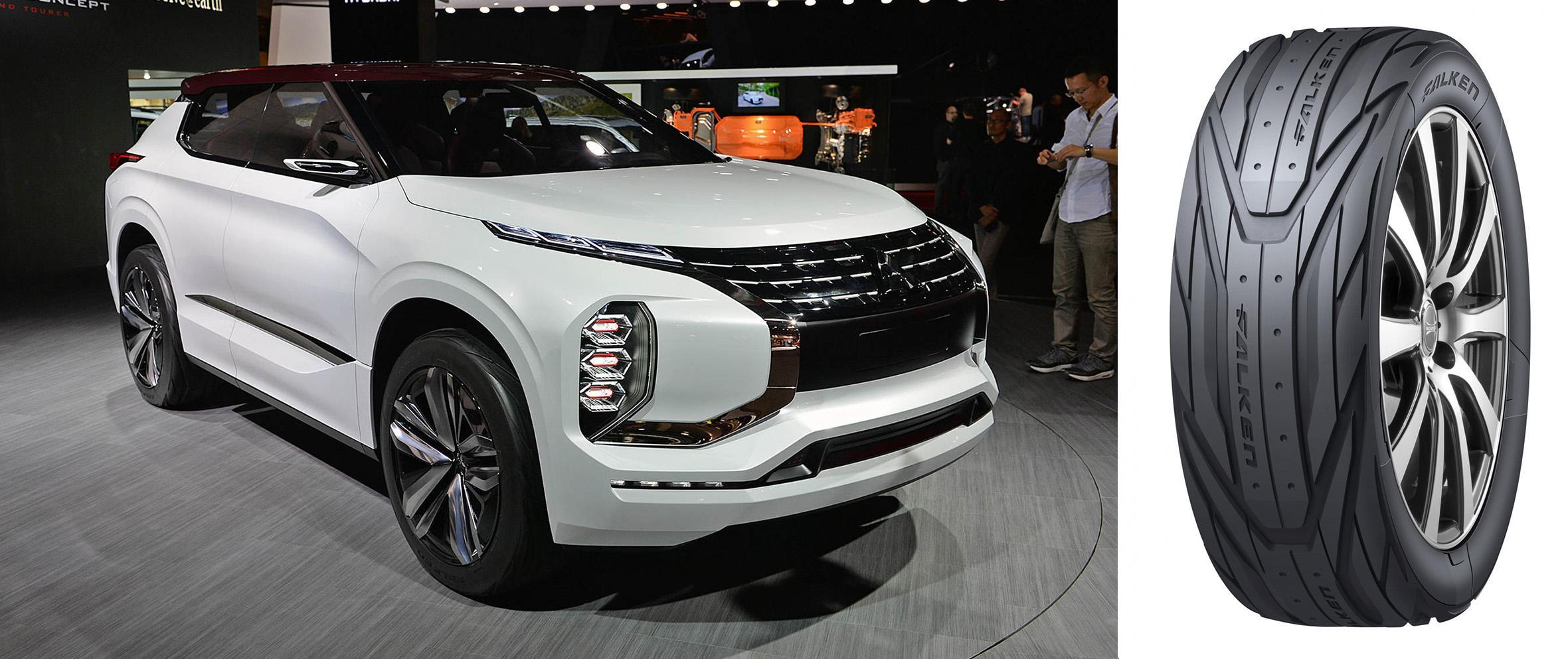 Sumitomo обула концепт-кар Mitsubishi GT-PHEV в концепт-шины Falken