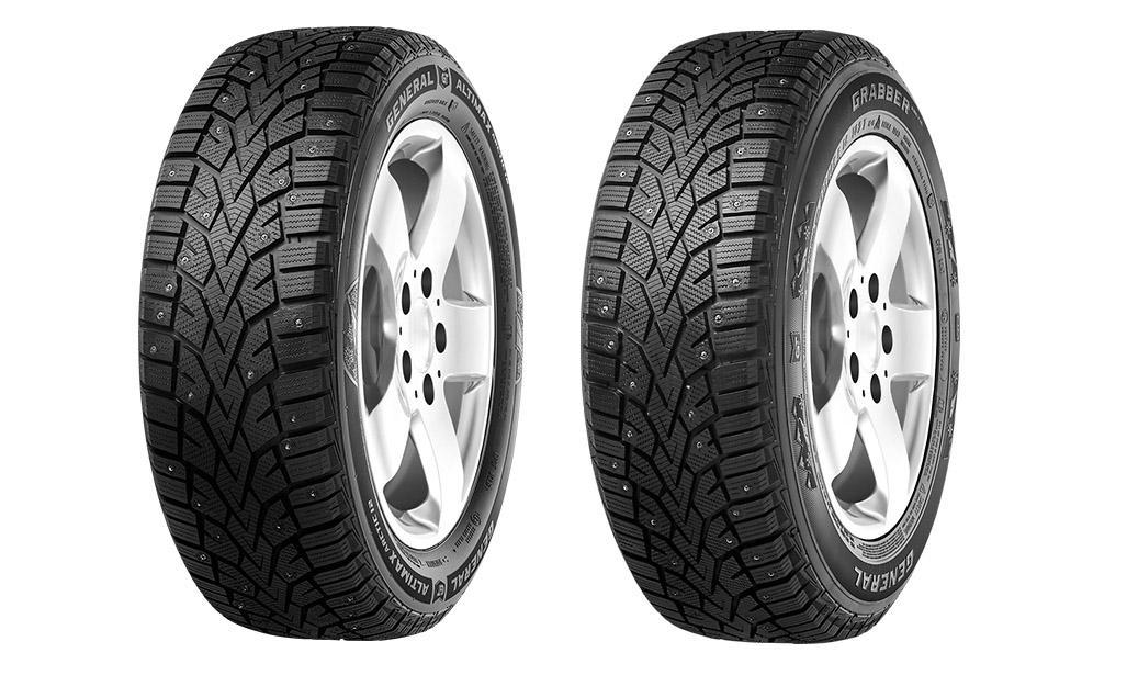 Continental Tire представила в Европе новые шипованные шины General Altimax Arctic 12 и Grabber Arctic