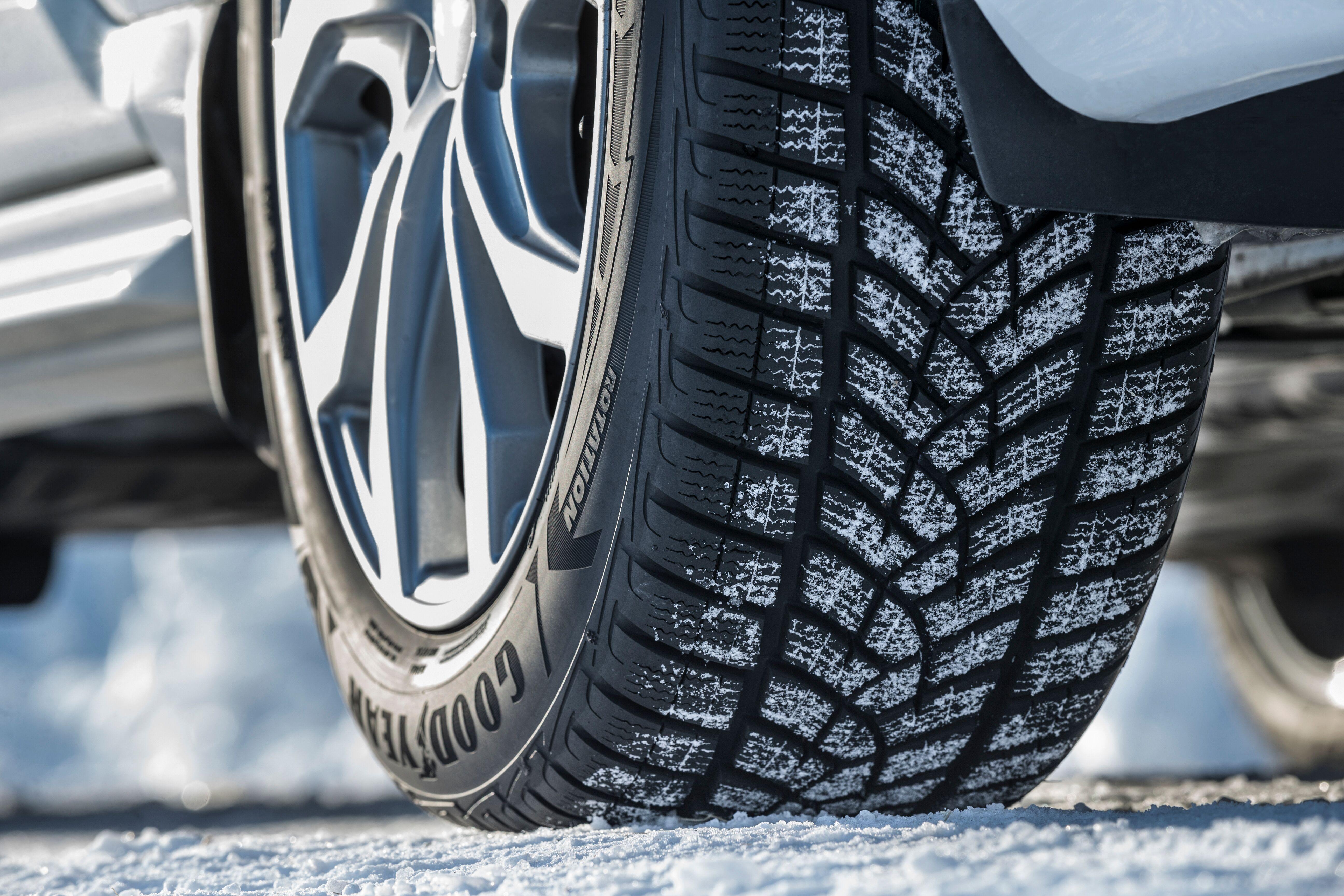 Goodyear развивает зимнюю линейку фрикционных шин UltraGrip Ice
