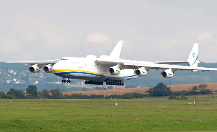 Украинские самолеты «Руслан» и «Мрия» переобуют в британские покрышки от Dunlop