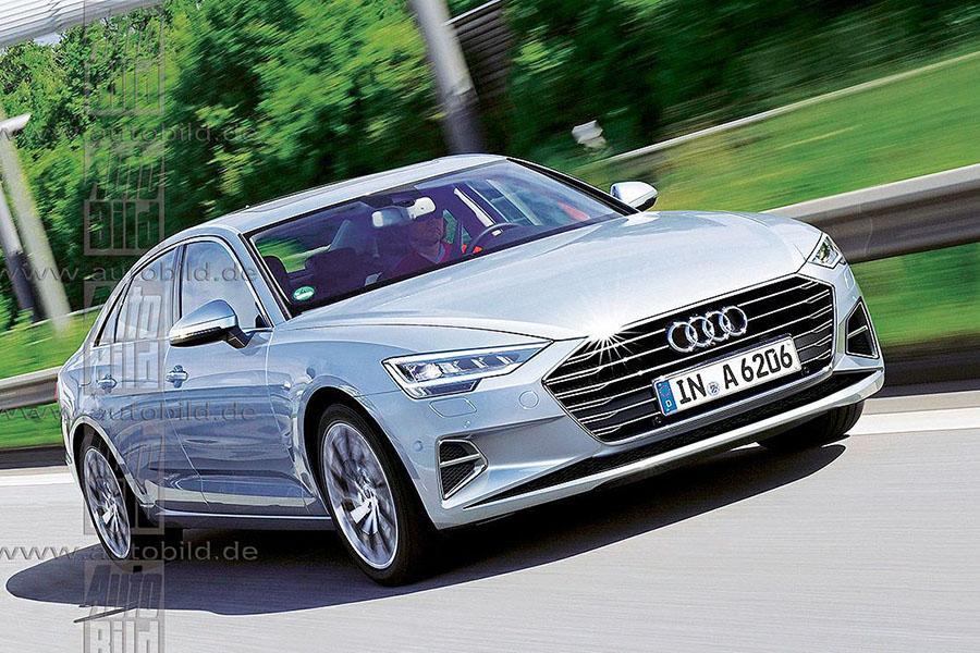 Стали известны первые подробности о новой Audi A6