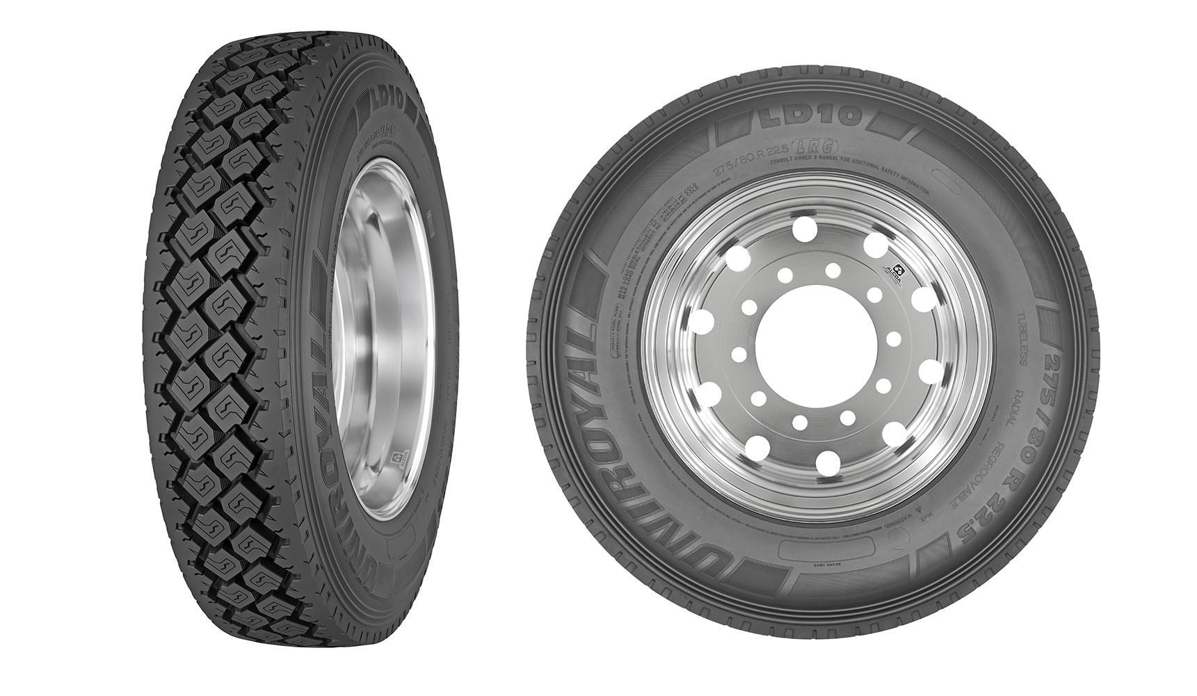 Мишлен представил новую грузовую шину бренда Uniroyal
