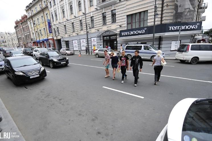 В Орле ГИБДД взялась за пешеходов-нарушителей