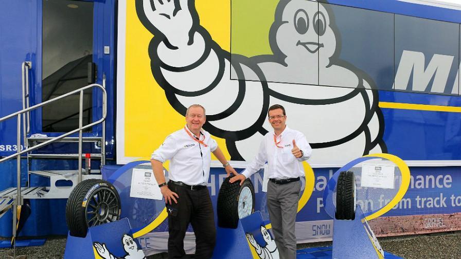 Michelin Motorsport празднует двойной юбилей и подписывает новый контракт с WRC