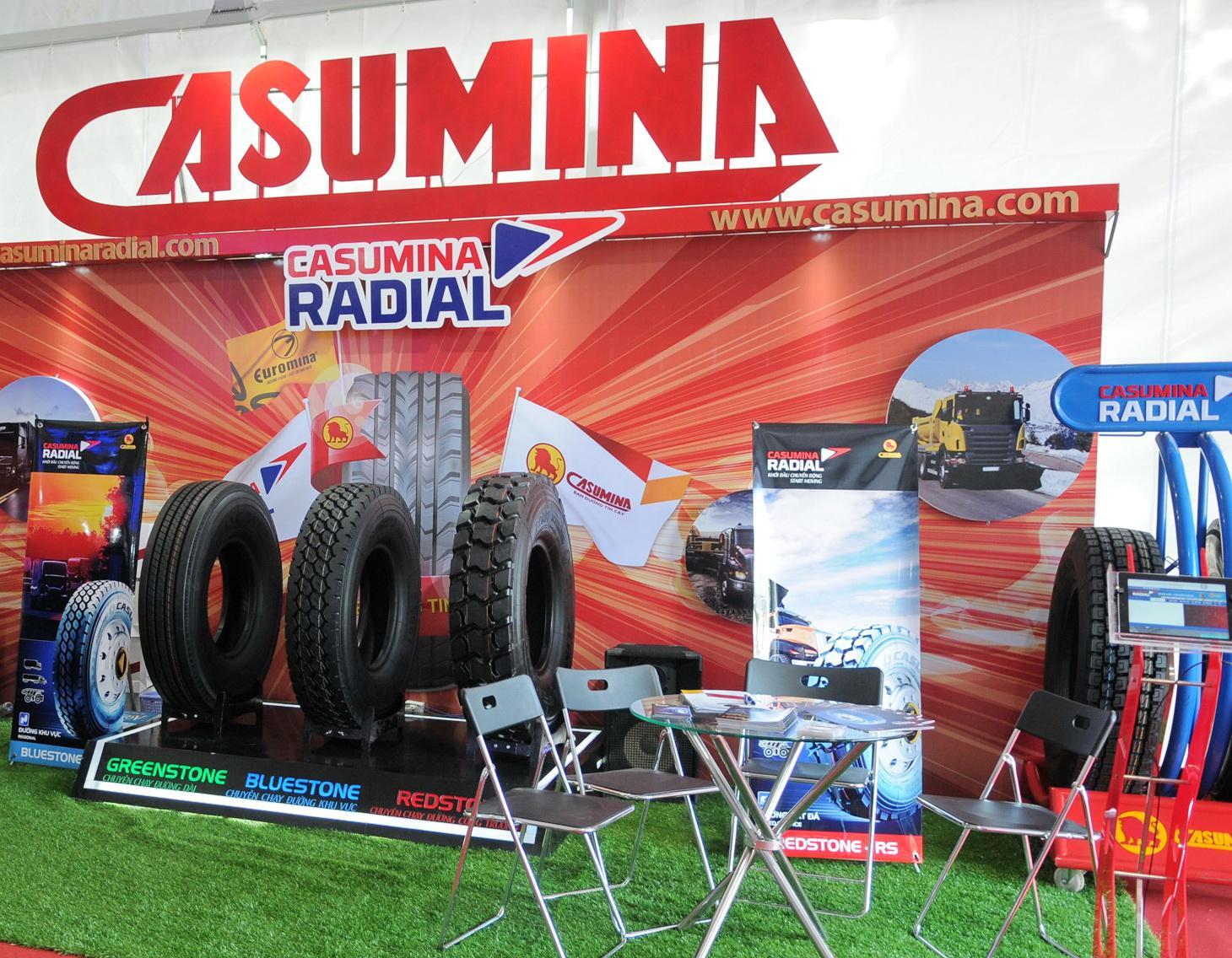 Вьетнамская Casumina планирует увеличить выпуск TBR-шин и мотопокрышек