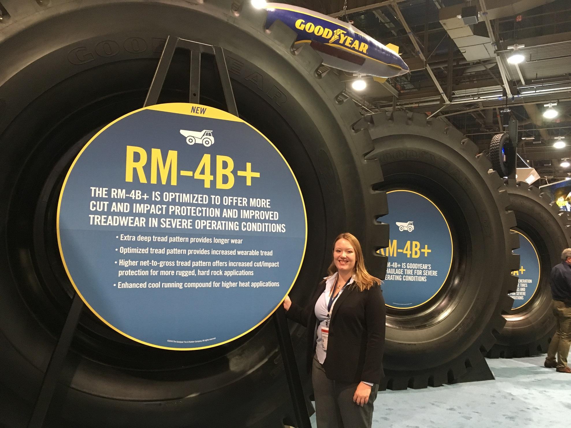 Goodyear представил новые OTR-шины RM-4B+ в регионе EMEA