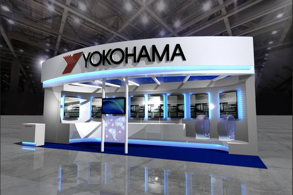 На выставке в Китакюсю Yokohama Rubber представит инновационные аэродинамические шины