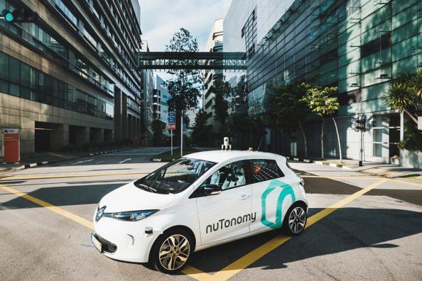 В Сингапуре беспилотное такси попало в ДТП