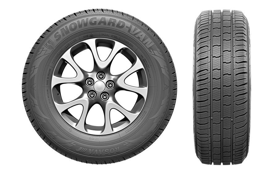 «Росава» представила зимние шины Snowgard-Van для коммерческих автомобилей