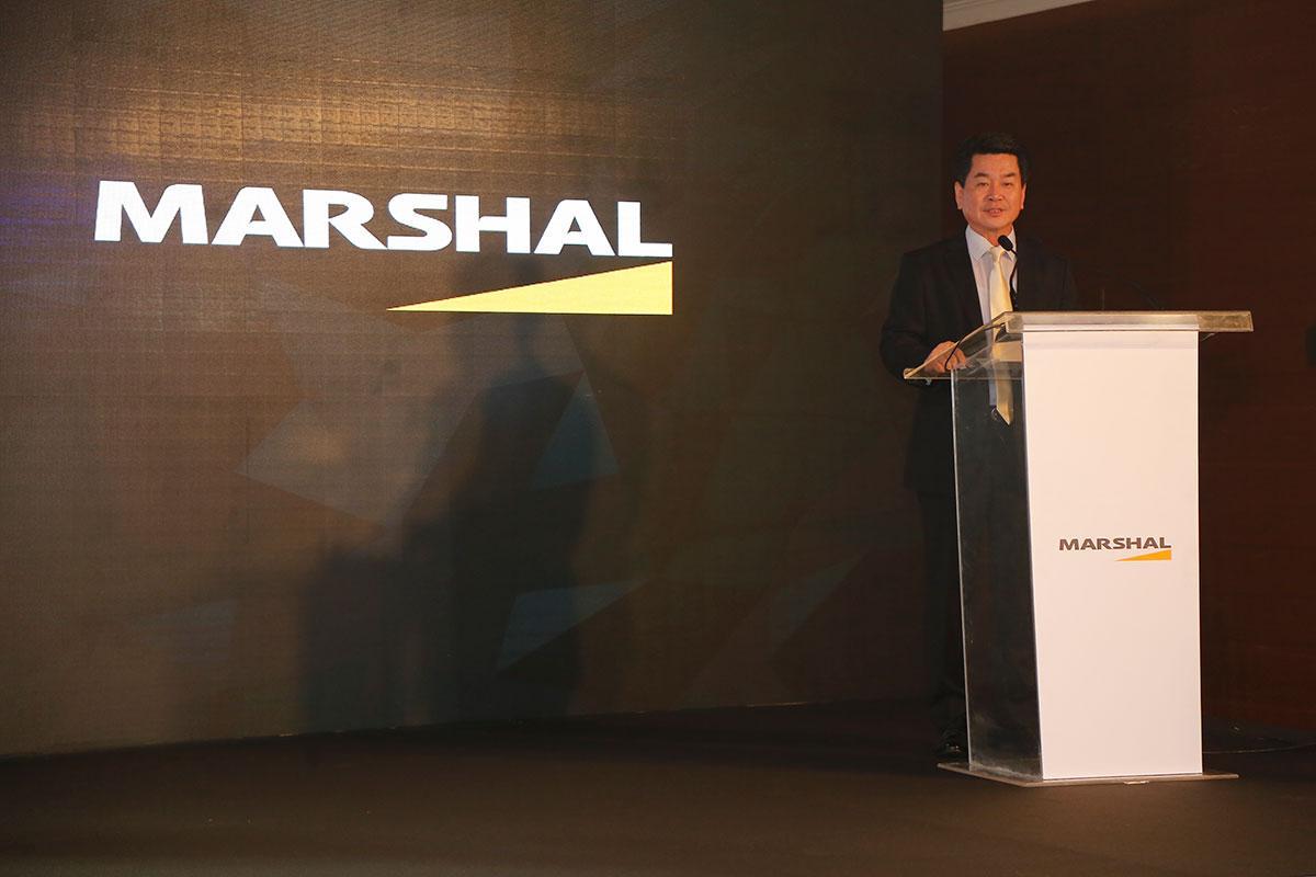 Премьеры Marshal Tire на встрече дилеров в Дубае