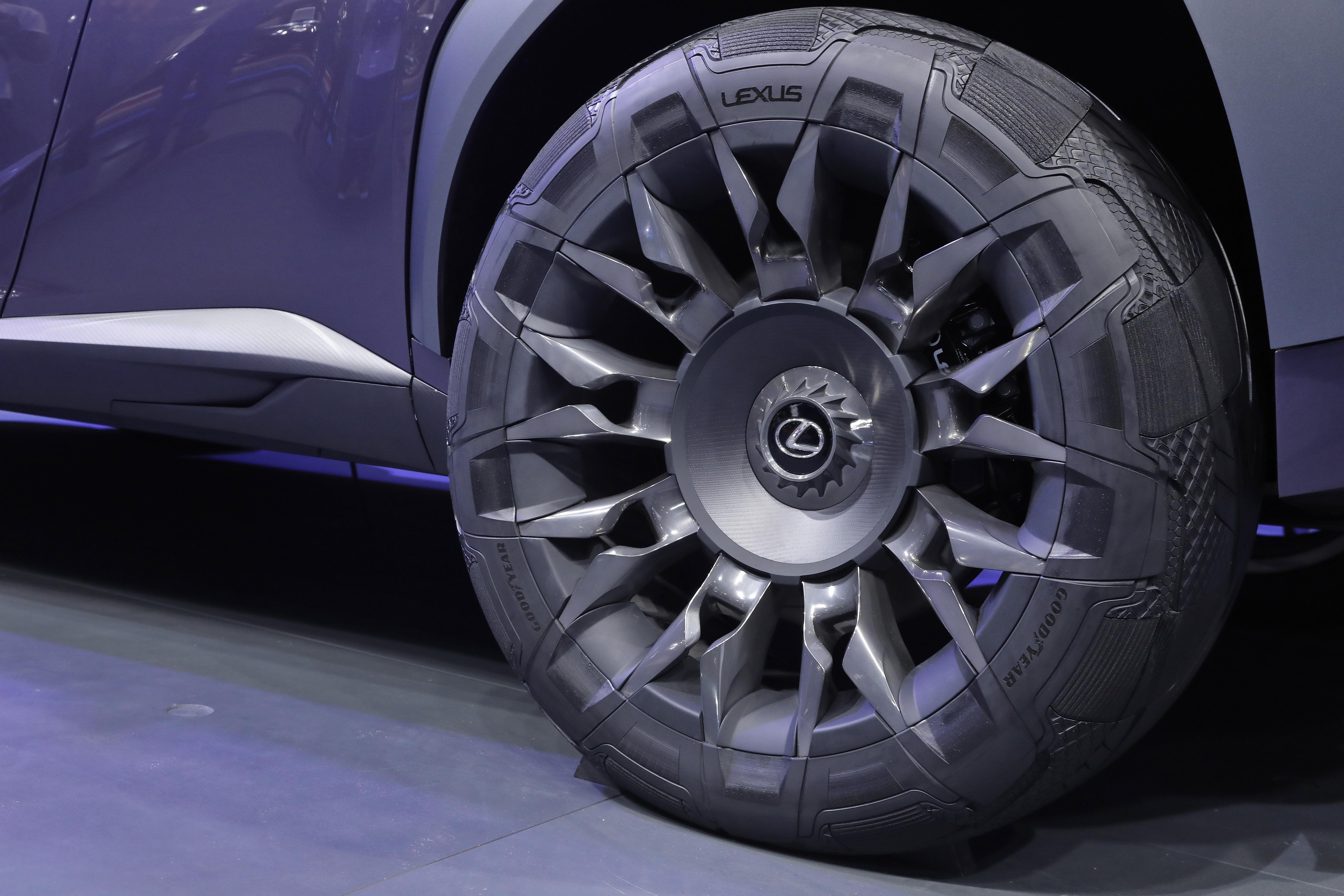 Новые шины Goodyear Urban CrossOver: выход за границы традиционного дизайна