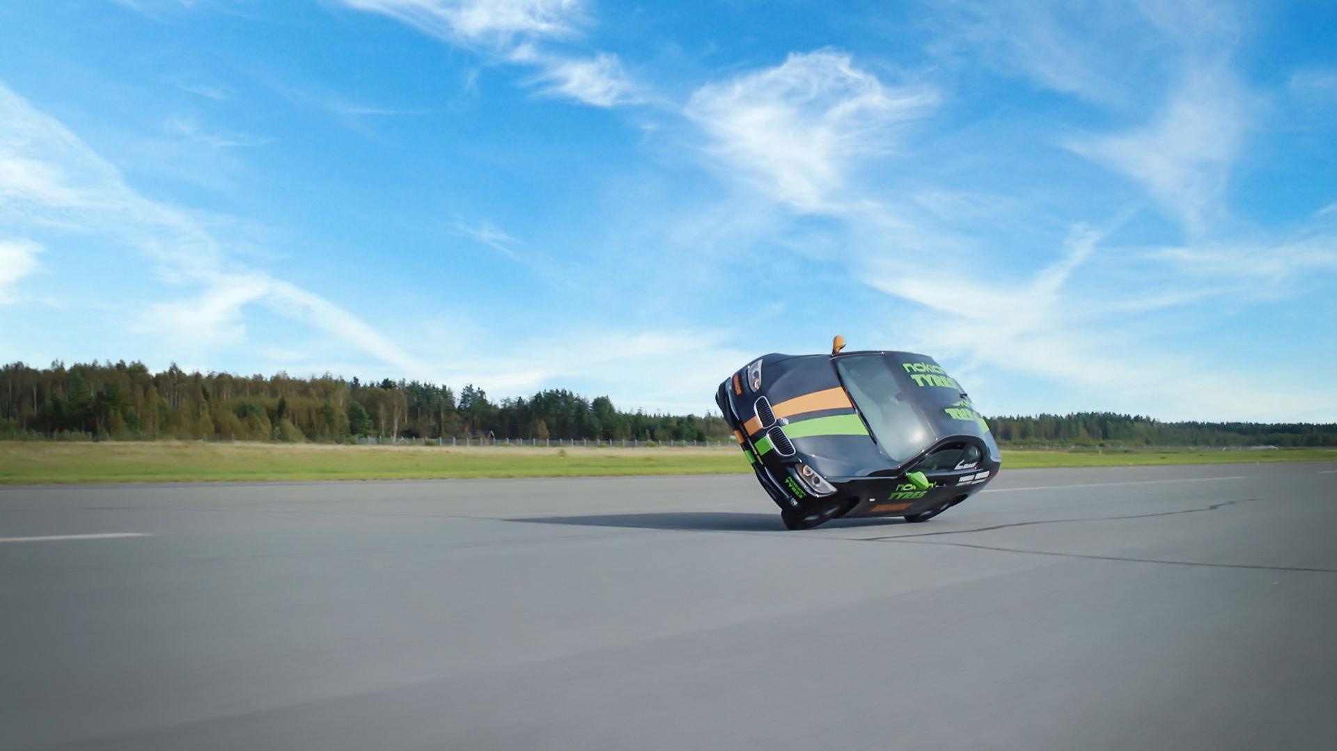 Шины Nokian помогли установить мировой рекорд скорости езды на двух колесах