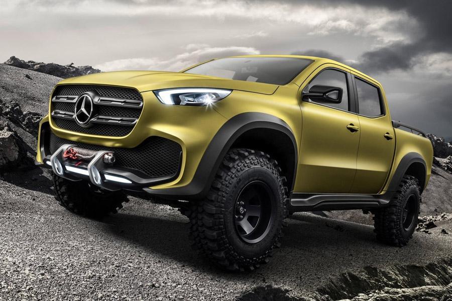 Mercedes рассекретил прототип пикапа X-Class