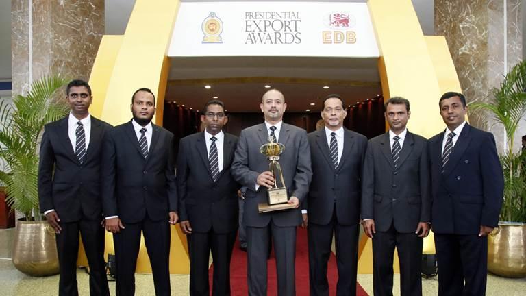 Завод Trelleborg в Шри-Ланка признан лучшим экспортером страны
