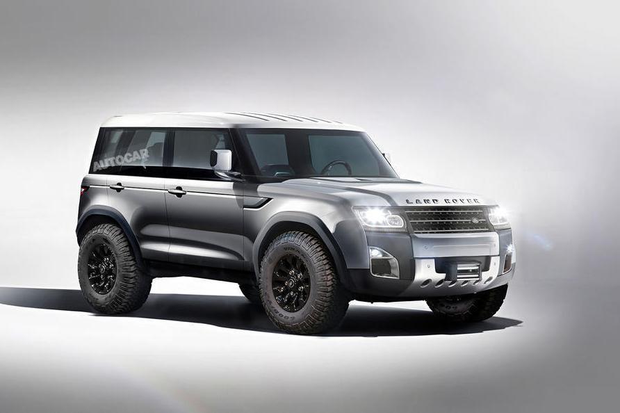 Defender станет самым продвинутым внедорожником Land Rover