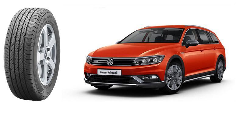 Новые универсалы Volkswagen Passat Alltrack обуют во всесезонки Falken Sincera SN250A A/S