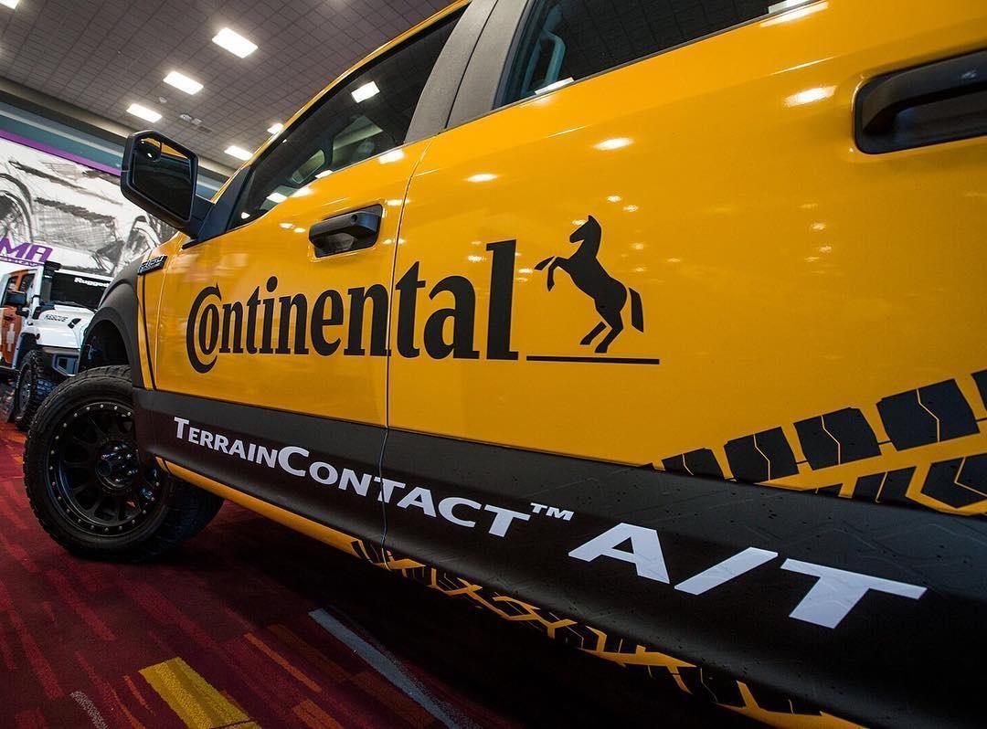 Continental Tire получила премию New Products Showcase Awards 2017 на SEMA 2016