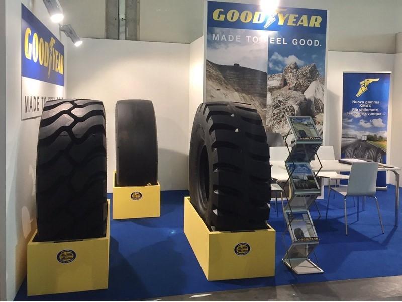 Goodyear впервые приняла участие в выставке Ecomondo в Италии