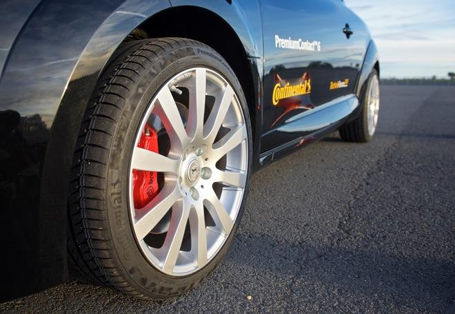 Continental официально презентовала в Испании новые легковые шины PremiumContact 6