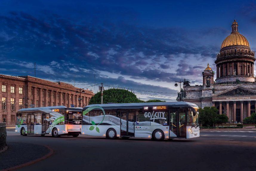 В Санкт-Петербурге могут появиться автобусы с прицепом