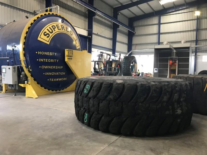 В Замбии открылся первый в Африке завод по восстановлению крупногабаритных шин
