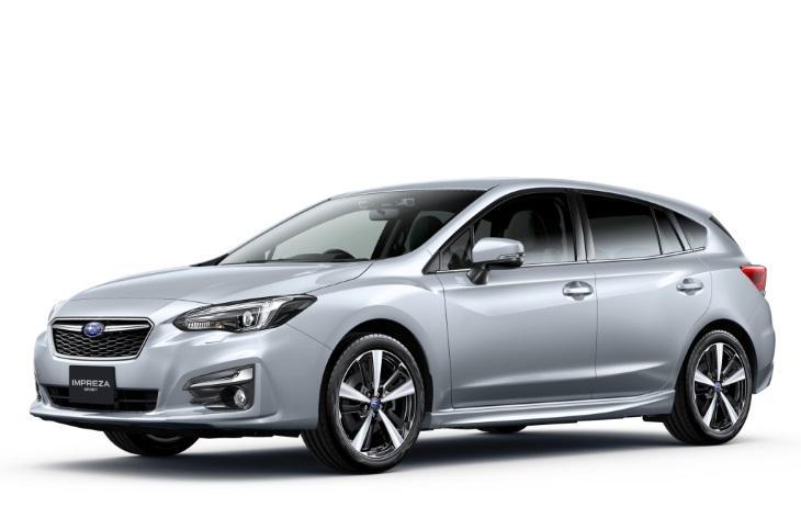 Fuji Heavy выбрала для Subaru Impreza 2017 шины Yokohama
