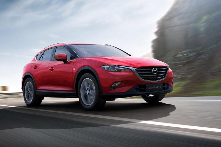 Купе-кроссовер Mazda CX-4 останется эксклюзивом для Китая