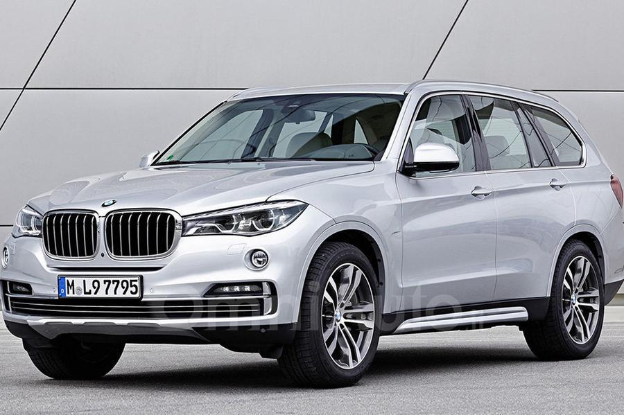 BMW X7: очередной рендер