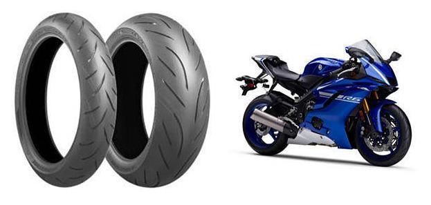 Новые спортбайки Yamaha YZF-R6 оснастят шинами Battlax Hypersport S21