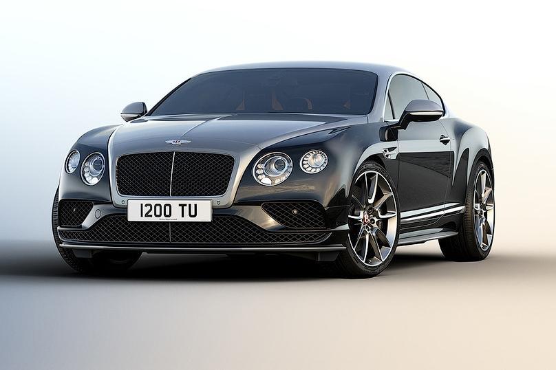 Bentley выпустил Continental GT специально для России