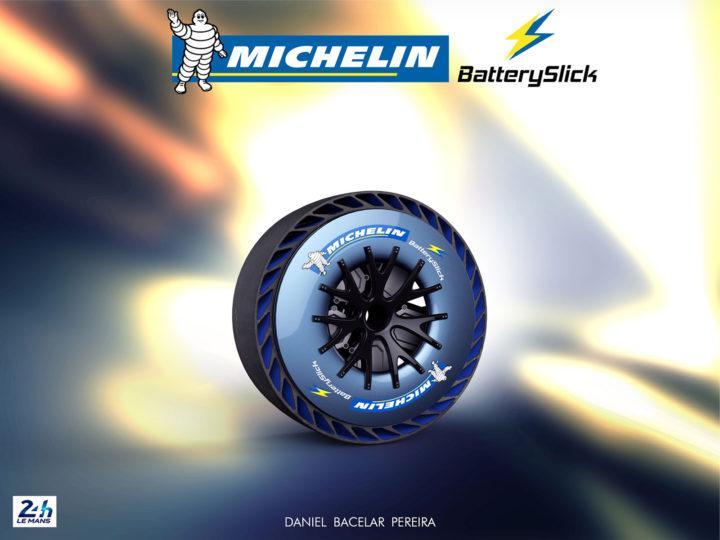 Michelin BatterySlick - уникальные шины с батарейками для Bentley 9