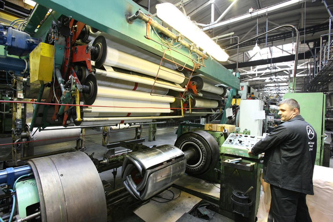 Сербская «Информатика» ведет модернизацию каландровой линии АШК