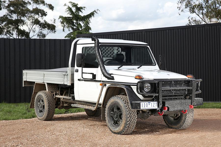 Mercedes начал продавать старый G-Class в Австралии